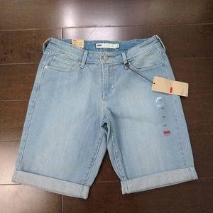 Levi's   Bermuda Jean Shorts